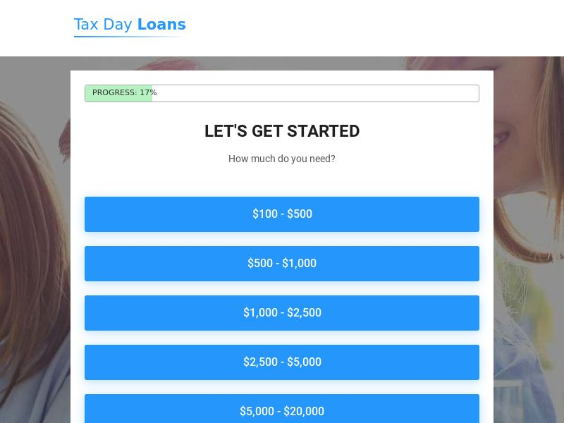 US - Tax Day Loans - Revshare