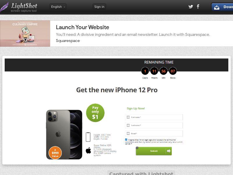 IPhone 12 Pro (CA) (Trial)