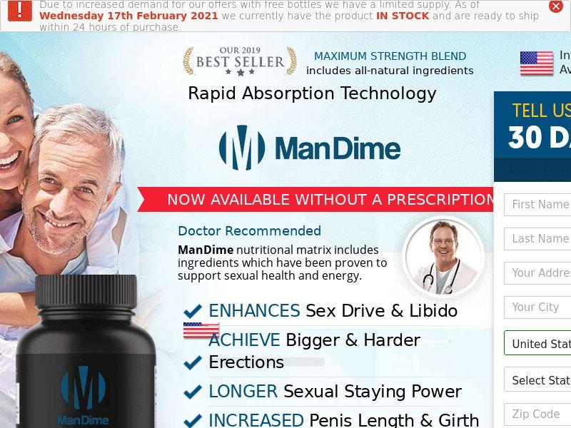 Mandime Male Enhancement (Trial+Upsell) - US