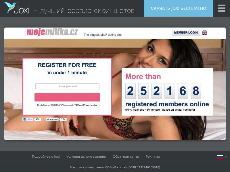 WEB/MOB mojemilfka.cz CPL DOI / CZ