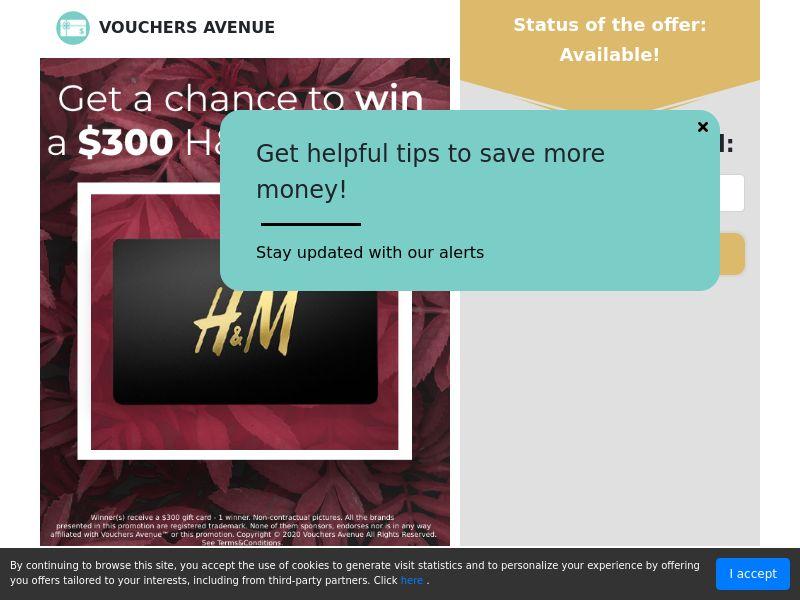 US - Vouchers Avenue - H&M Gift Card
