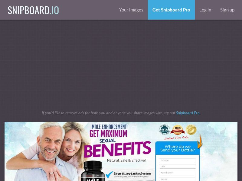 40750 - US - Quick Flow Male Enhancement (US) (CPA) (SS) (SMS Allowed)