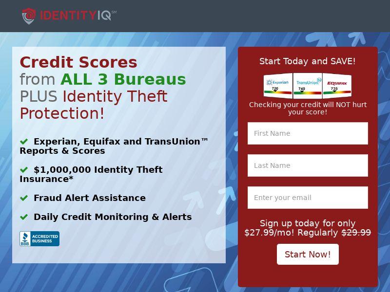 Identity IQ Credit Score (CPA) (US)