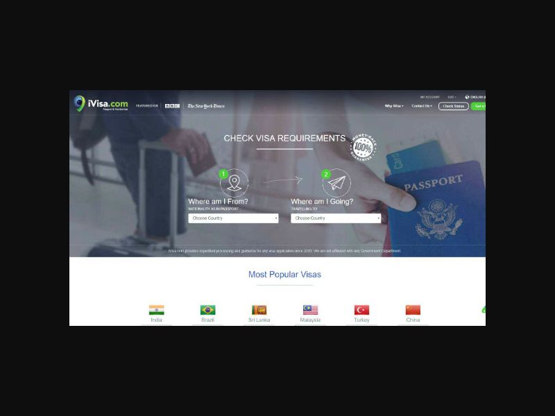 iVisa - Traveling Visa & Passports (INTL)