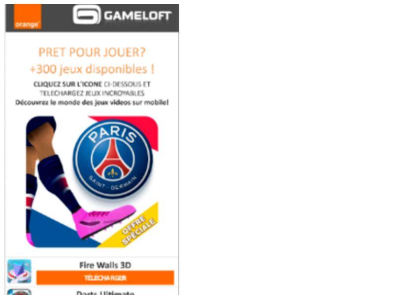 Gameloft PSG New Orange