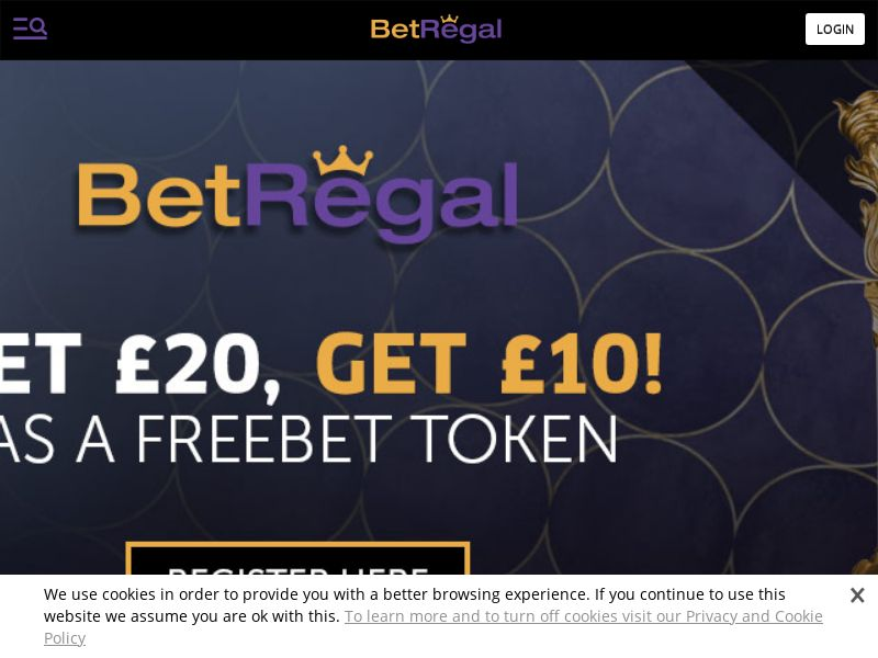 Bet Regal Sportsbook - CPA - UK