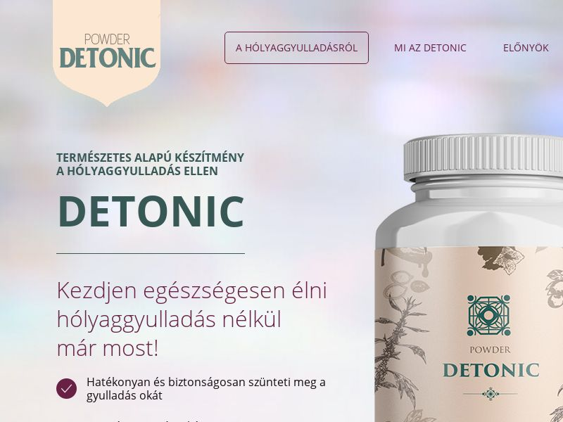 Detonic HU (cystitis)