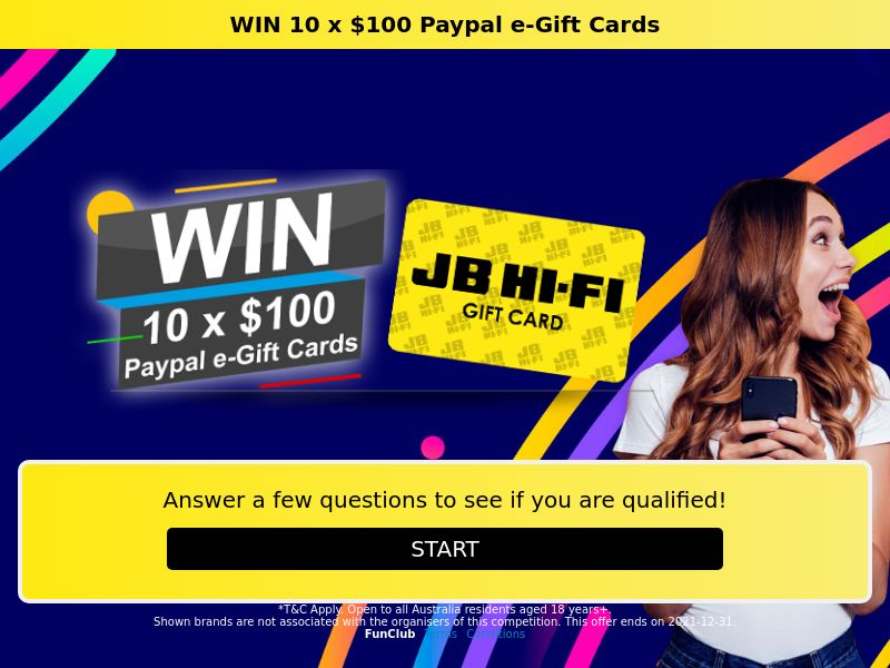11442) [WEB+WAP] Paypal e-giftcard - AU - CPL