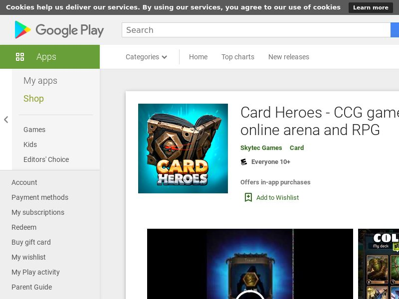 Card Heroes - US - Android - GAID