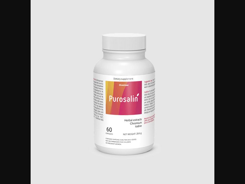 PUROSALIN – SI – CPA – weight loss – capsules - COD / SS - new creative available