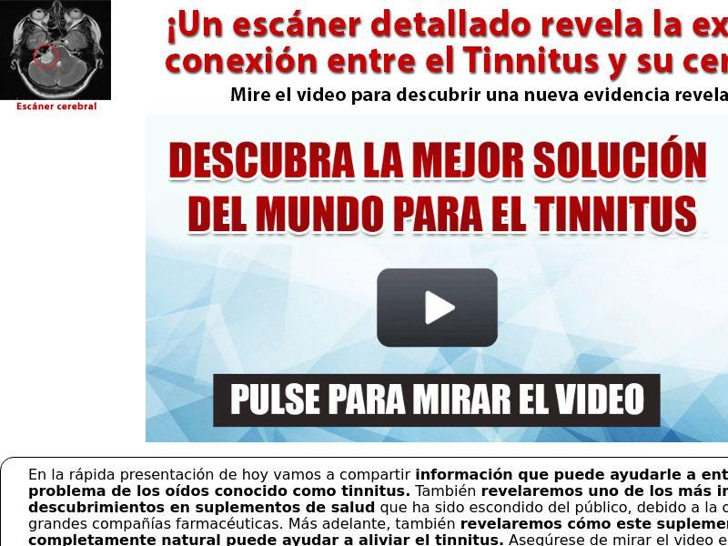 Tinnitus 911 Spanish