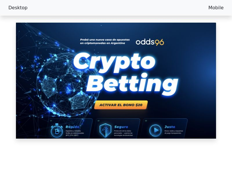 Odds96 - CPA - AR, IE, IN