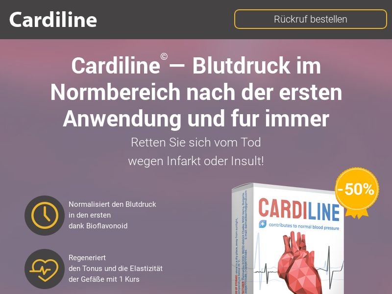 CardiLine DE - pressure stabilizing product