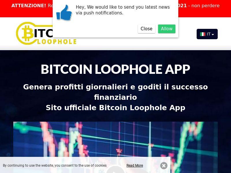 Bitcoin Loophole Pro Italian 2071
