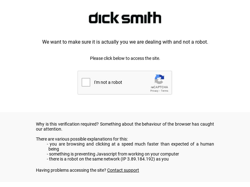 Dick Smith AU CPS