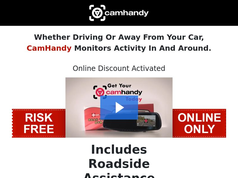 CamHandy Dashcam (CC Submit) - Survival/eCommerce - US