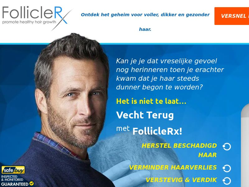 FollicleRx LP01 (Dutch) - Male - Hair