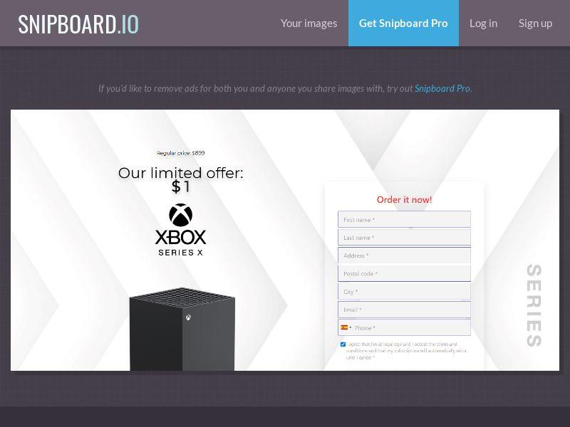 39787 - US - OrangeViral - Xbox X - Only US - CC submit