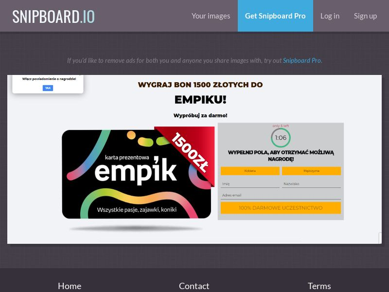 39616 - PL - PrizeCompetition - Empik 1500 - SOI