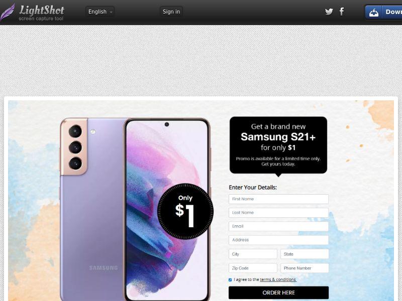 Lucky Winner - Samsung S21+ - LP63 (US) (Trial)