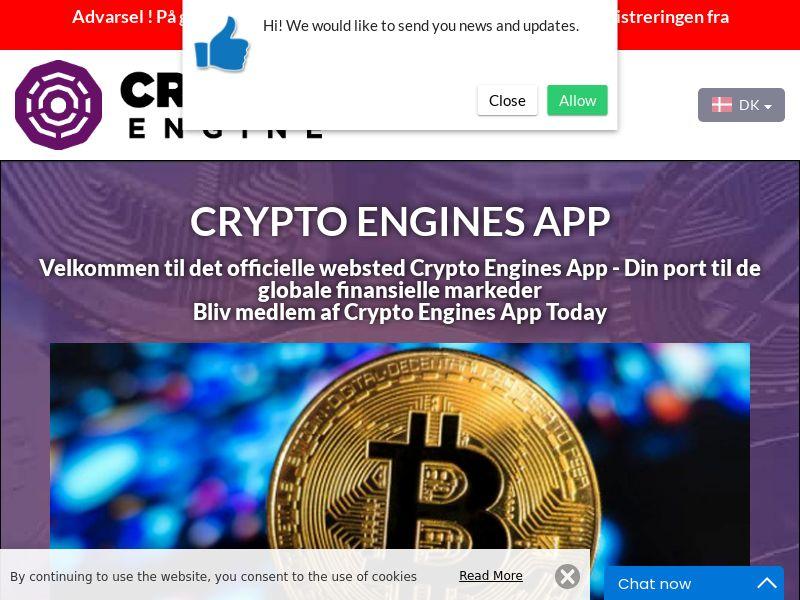 Crypto Engines App Danish 2560