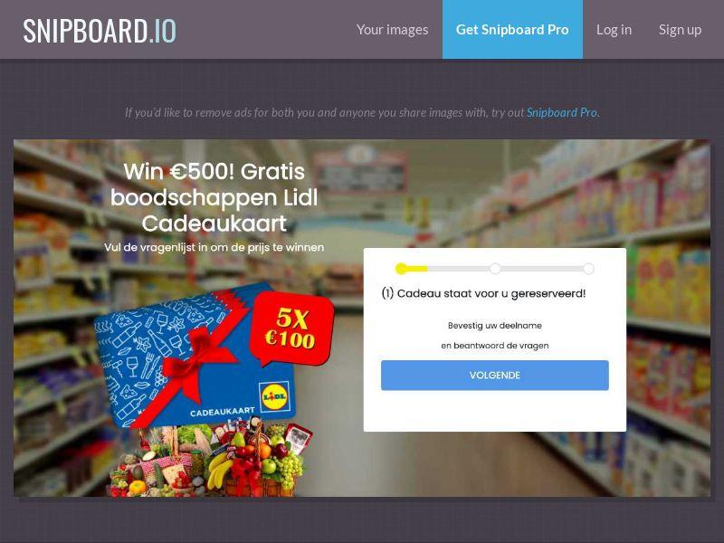 37510 - NL - WinAds - Lidl Supermarket - SOI