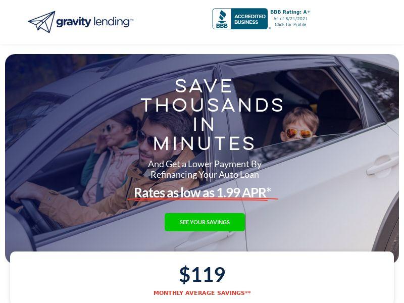 Gravity Lending - CPL - US