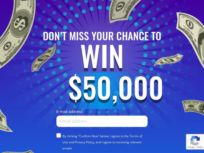 SweepsRewards: $50000 Sweepstake Promotion - CPL | US