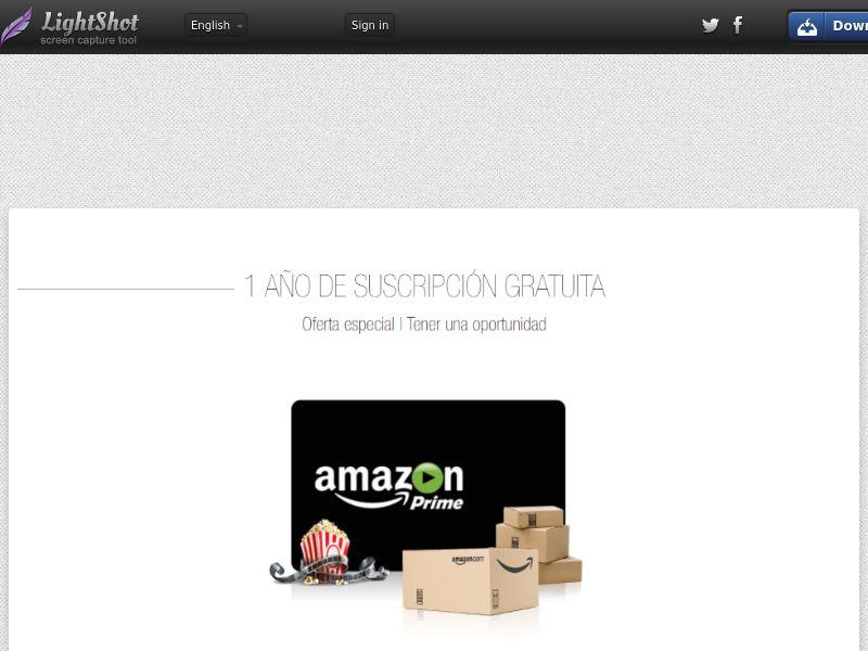 Portal Leads - Amazon Prime (ES) (CPL) (Personal Approval)