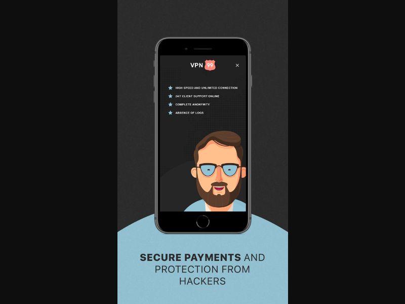 VPN99 iOS [UA] - Free trial
