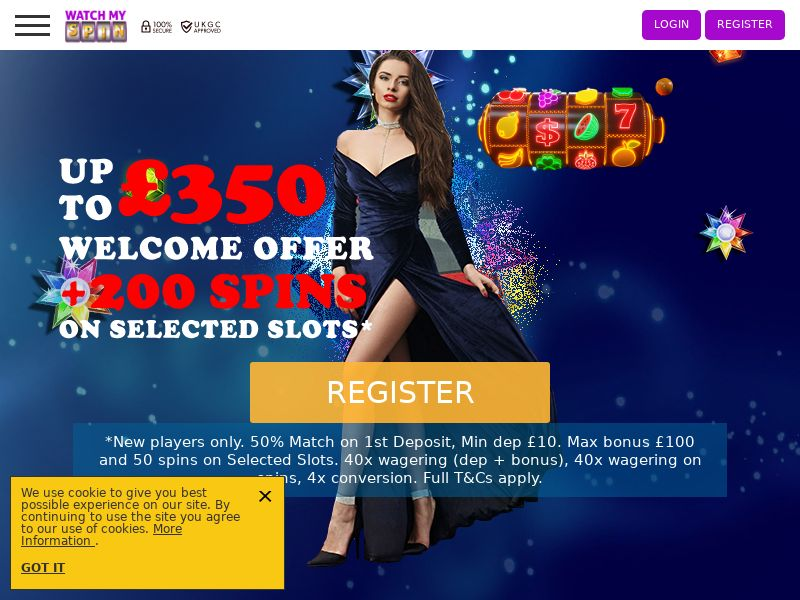 WatchMySpin - Casino - FI, DE, CA, NZ, NO- (CPA)