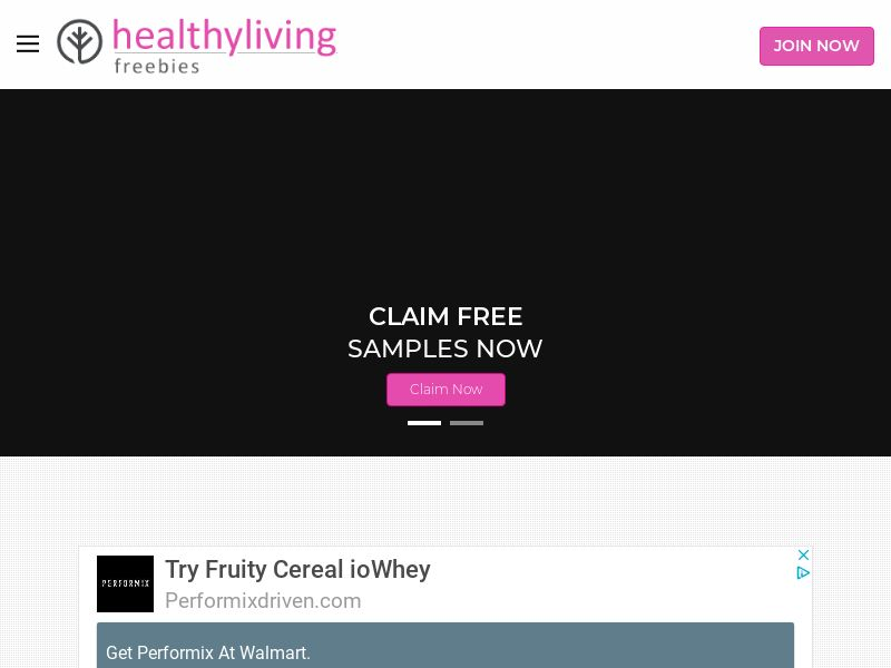 (HLF) Healthy Living Freebies - Discover Exclusive Freebies CPL [US]
