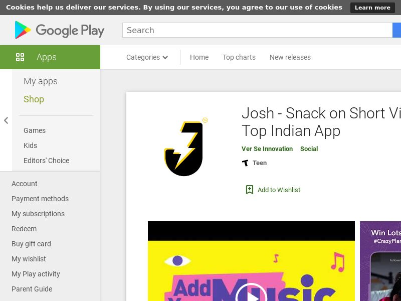 Josh_IN_Android *redirects only with correct GAID* (CPI)