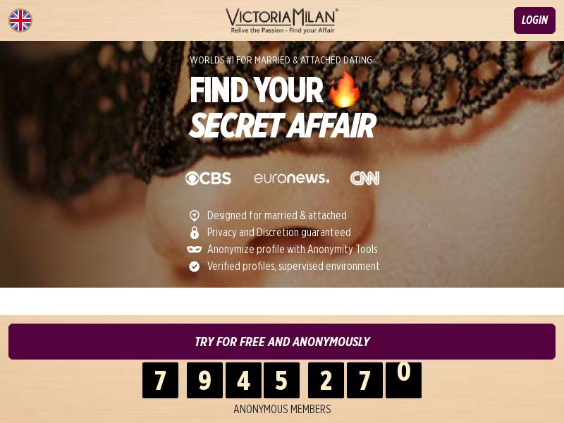 4848 - Victoria Milan (CPA) - Dating