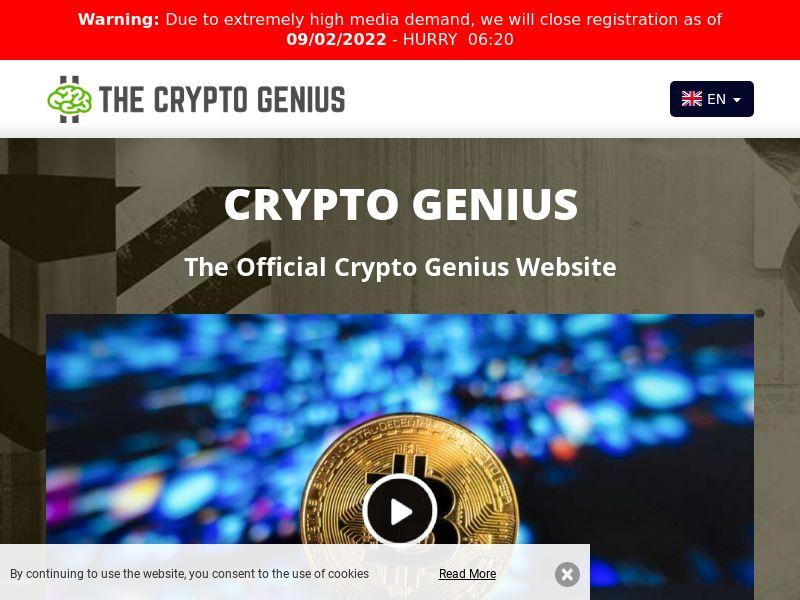 Crypto Genius English 905