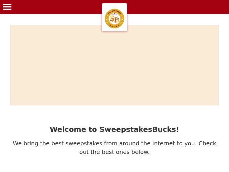 Sweepstakes Bucks - US - DIRECT