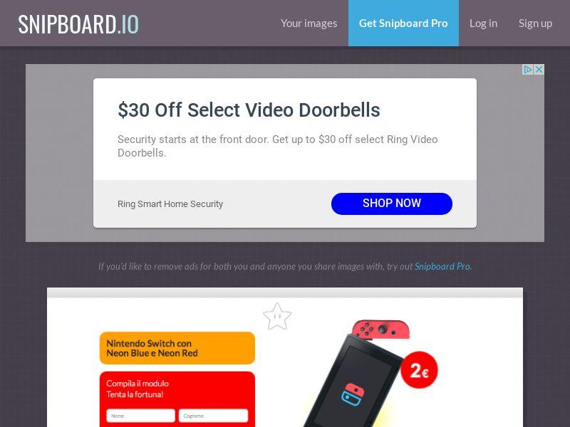 BigEntry - Nintendo Switch IT - CC Submit