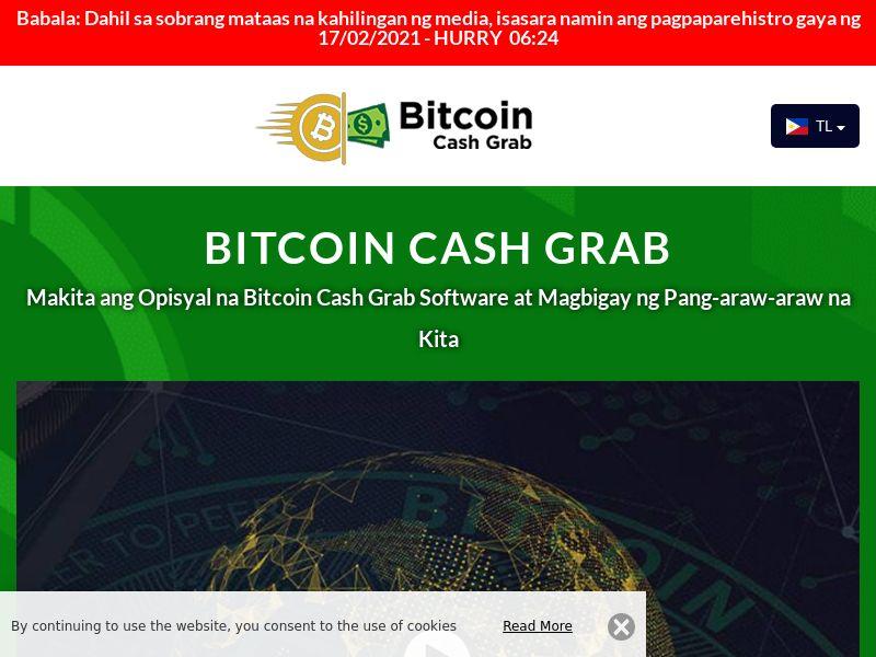 Bitcoin Cash Grab Filipino 1899