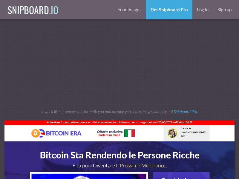 42106 - IT - Bitcoin Era (min FTD $250) - CPA