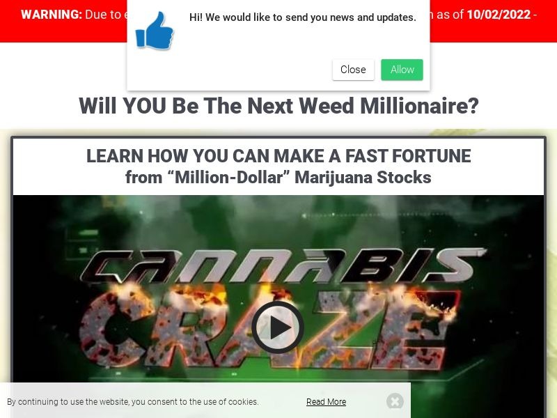 Weed Millionaire English 1370