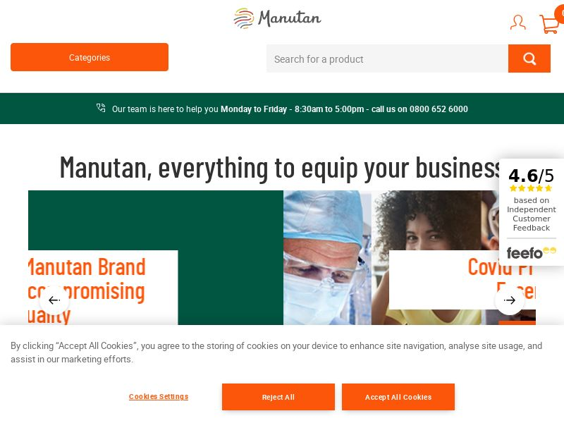Manutan - UK (GB), [CPS], House and Garden, Furniture, Household items, Building, Sell, shop, gift