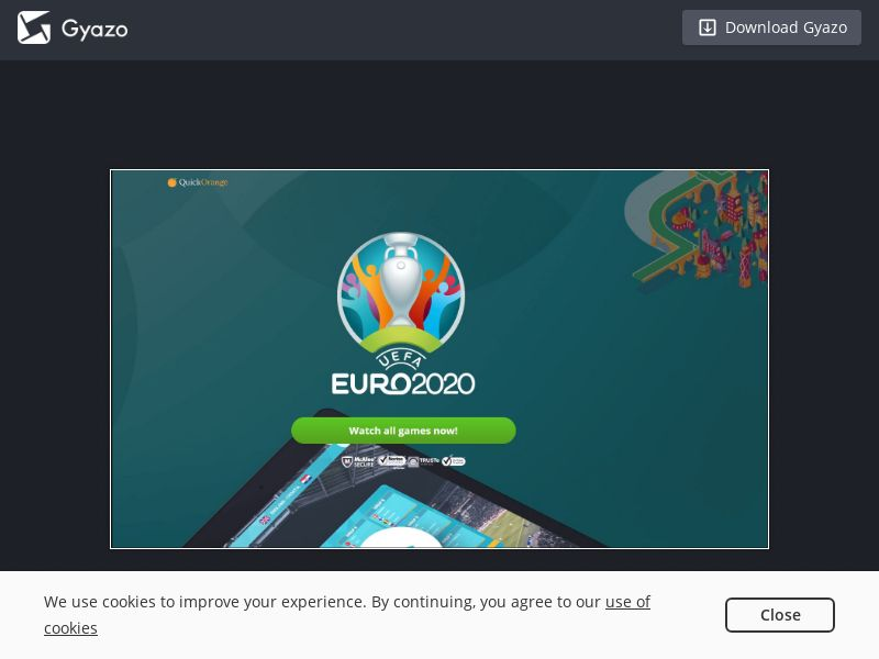 Watch EURO 2020 Games (INTL) (CPS)
