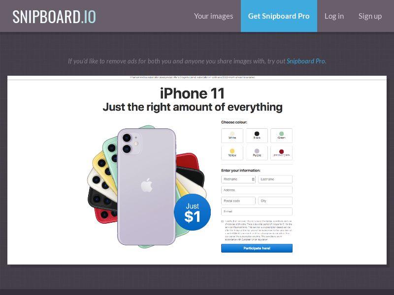 OrangeViral iPhone 11 (Colours) AU/CA | CC Sub