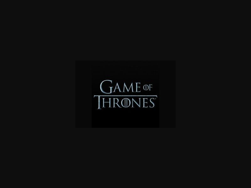 Game of Thrones HBO - AU