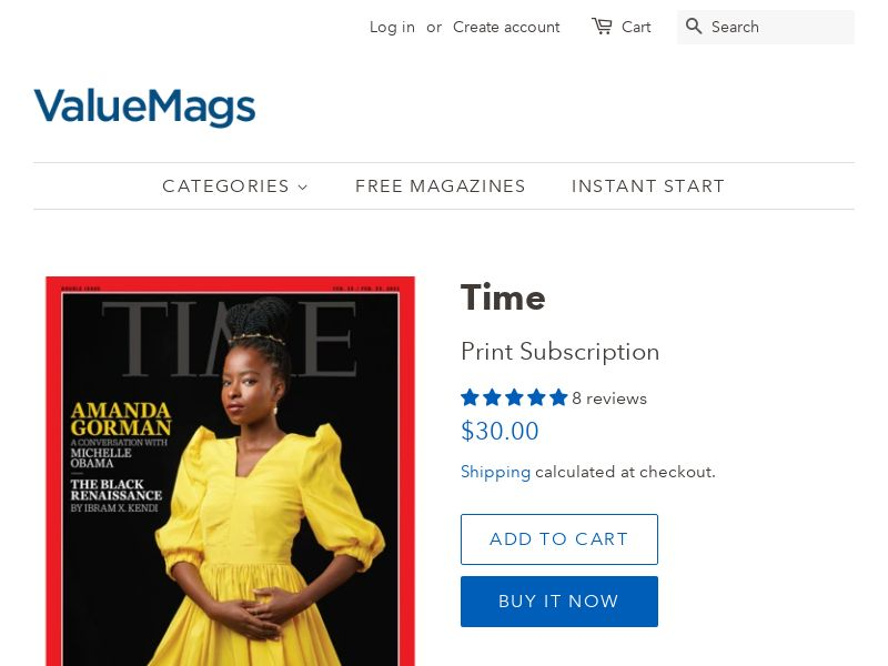 TIME Magazine Subscription (90% OFF!) | US