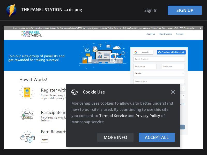 Australia (AU) - The Panel Station - Registration (Responsive)