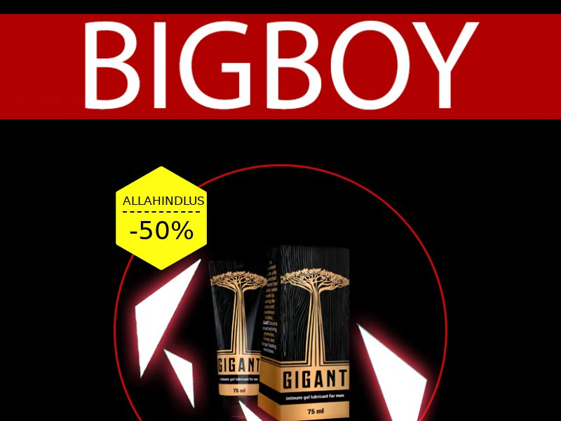 Gigant EE - penis enlargement cream