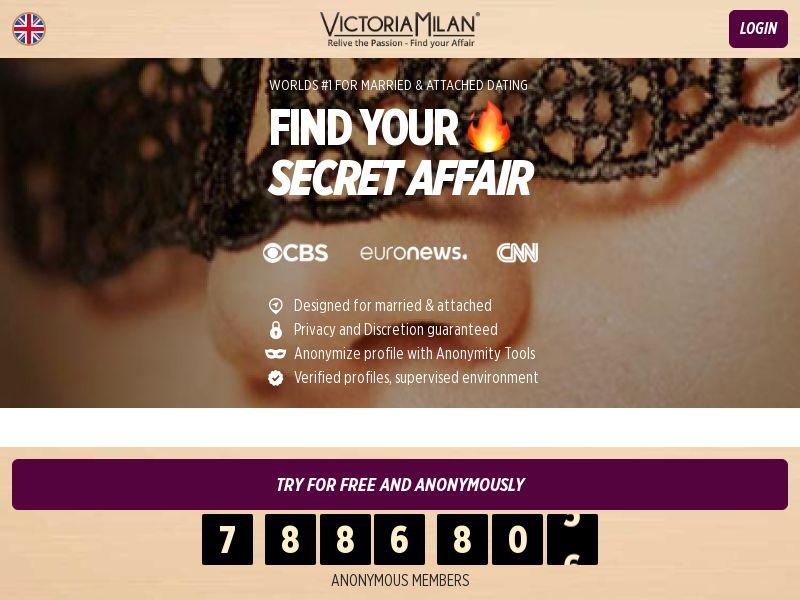 6641) [WEB] Victoria Milan- DK,FO,NO,NL,BE,SE,DE,CH - CPA