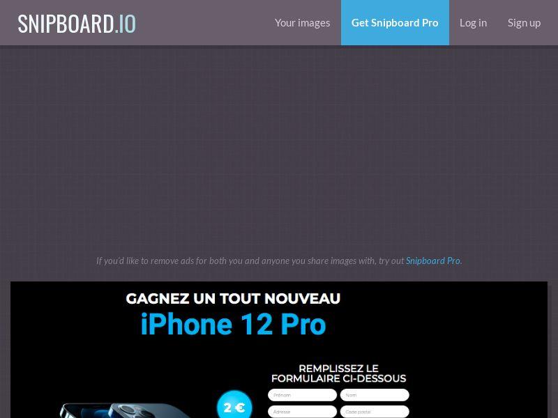 BigEntry - iPhone 12 Pro v2 FR - CC Submit