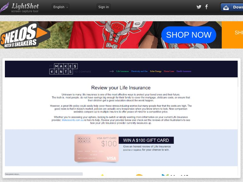 MakesCents Reviews Banks & Life Insurance (AU) (CPL) (Personal Approval)